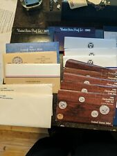 Mixed Lot of 15 U.S. Proof AND Mint Sets