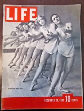 LIFE Dec 28 1936 Gone with the Wind, C Burchfield, Lindy Hop, Astaire,1936 China