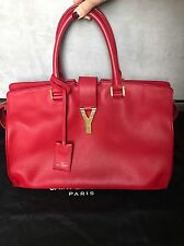 SAINT LAURENT YNLYGNE CHYC TOTE BAG RETAIL $2950 EXCELLENT CONDITION