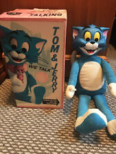 "Vintage Tom & Jerry Doll W Box Talking Mattel 19"" 1965"