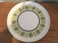 Prolon ~ Leonora ~ 8 Plates, 1 Serving Patter, 4 Bowl ~  Green & White ~ Nice!