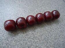Original antique ottoman faturan amber beads