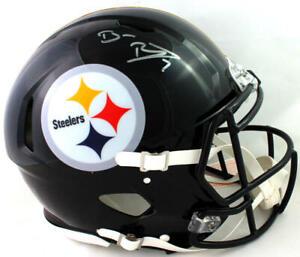 Ben Roethlisberger Signed Steelers F/S Speed Authentic Helmet - Fanatics Auth