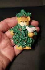 Christmas Holly Bear Lucy & Me Enesco Lucy Riggs 1991
