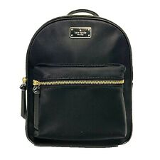 NWT KATE SPADE NEW YORK Small Bradley Wilson Road Backpack Nylon Black WKRU4717