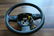 AUDI RS4 S4 4A B5  STEERING WHEEL LEATHER BLACK 61711340B00