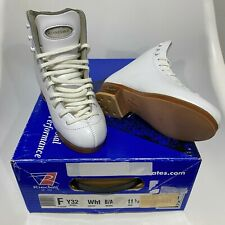 Riedell Boots White Model: Y32 Size: 11 1/2 (11.5) Width: B/A Youth Girls