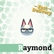 Raymond Villager for Animal Crossing New Horizons + gifts