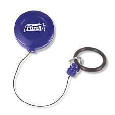 Blue Retractable Personal Clip for a 60ml and 100ml bottles