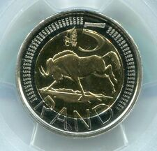 South Africa Coin World Oom Paul 2014 R5 Mint Mark Pcgs 5 Rand Proof Pr68dcam