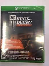 XBOX ONE State Of Decay ***BRAND NEW FACTORY SEALED***