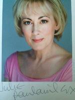 6x4 Hand Signed Photo of Paula Wilcox