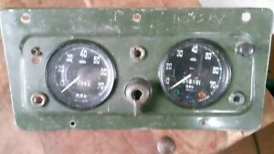 LAND  ROVER  SERIES  2  OR  2A  DASH  INSTRUMENT  PANEL.