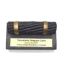 Irish Valentia Slate Antique Transatlantic Cable 1800S Kerry Ireland To Canada