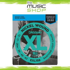 D'Addario EXL158 Nickel Wound Baritone Guitar Strings - 13-62 - Daddario