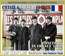 The Beatles / LIVE - CONCERTS IN FRANCE 1964 / 1CD+1DVD / misterclaudel / New!