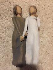 """Willow Tree My Sister My Friend 8-3/4"""" Figurine 2011 Demdaco Gift Siblings"""