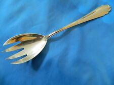 "Antique   Salad Fork , Bruckmann, 800 Silver  76 gram  9"""