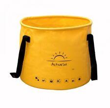 ActiveSol Falteimer gelb 20l Eimer faltbar Tarpaulin Camping Angeln Garten ...