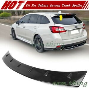 2014-2020 Fit For SUBARU Levorg 5D Wagon S Type Rear Trunk Spoiler Unpainted