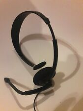 Xbox 360 Official Live Wired Headset Black