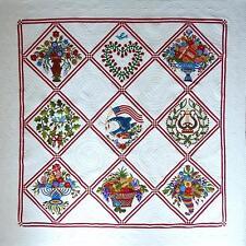 Baltimore Glory Applique BOM Come Quilt Quakertown Sue Garmen 10 Pattern Set