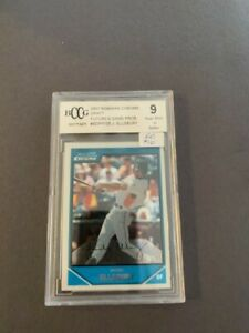 2007 Jacoby Ellsbury Bowman Chrome Draft Futures.  BDPP105.  BCCG 9