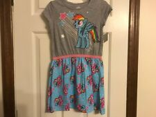 Rainbow Dash My Little Pony dress size 7/8