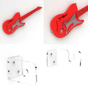 Supporto da parete per chitarra Supporto per chitarra in acrilico Supporto peWEH