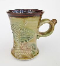 Stoneware Tea Coffee Mug - Woodland AQ Handmade Craft Steve Woodhead Ceramics