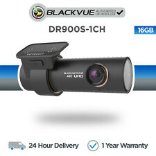 BlackVue DR900S-1CH 4K Front Dash Cam (16GB) Wi-Fi GPS Cloud - NEW