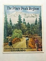 1925 Pikes Peak Colorado Springs Area Souvenir Travel Brochure Booklet