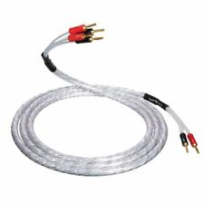 QED XT25 BiWire Speaker Cable 7.0m Single Length - 2 to 4 ABS Airloc Bananas