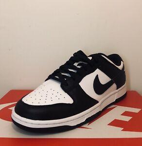 "BRAND NEW. Nike Dunk Low Retro ""Black White"" 2021 Men's Size 11 *DD1391-100*"