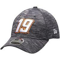 New Era Martin Truex Jr Gray Tech 9FORTY Adjustable Snapback Hat