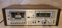 Vintage Technics RS-641 Stereo Cassette Tape Deck Player Recorder - NEEDS REPAIR