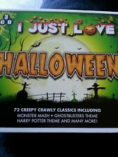 cd box collection l just love Halloween 3cds with 72 tracks