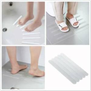 Anti-Slip Strips Shower Stickers Bathroom Safety Strip Sticker Transparent N7