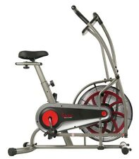 Sunny Motion Air Fan Exercise Bike w/ Unlimited Resistance & Device Holder NEW