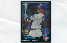 2013 TOPPS CHROME BLACK REFRACTOR ANTHONY RIZZO ALL STAR GOLD CUP /100
