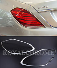 FAST EMS x2 CHROME Rear Lamp Surrounds for Mercedes Benz S Class W222 13-ON
