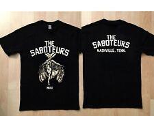 the Saboteurs Raconteurs Australian Glowing band t-shirt 2019