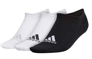 adidas Golf Golf Women's No-Show Socks, White/Black, One Size Fits All
