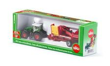 SIKU FARMER 1:87 Scale 1808 FENDT TRACTOR with POTATO HARVESTER Die Cast/Plastic