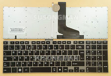 New UK Keyboard For Toshiba Satellite P855 P855D P875 P875D Backlight