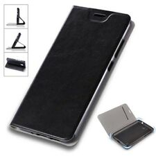 Flip / smart Funda negro para Sony Xperia L2 FUNDA PROTECTORA ESTUCHE FUNDA
