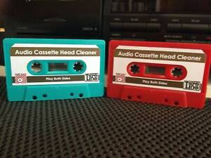 Cassette Head Cleaner - Brand New - BASF tape - Free Postage
