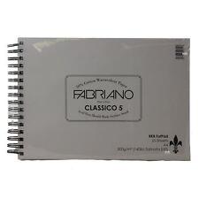 RKB Grasso pad A4 FABRIANO classico 5 Hot Press 300gsm 25 FOGLI Acquerello Pad