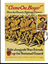 World War I, National Guard, WWI, Maximum Card