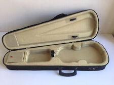 Einfacher Geigenkoffer Formkoffer für 4/4-Geige schwarz wenig gebraucht